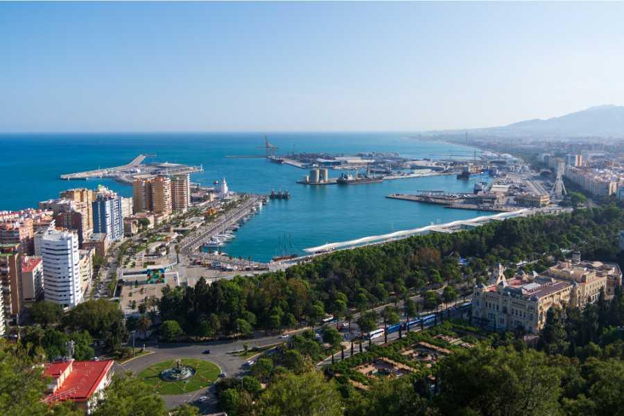 Visita Málaga en minibus