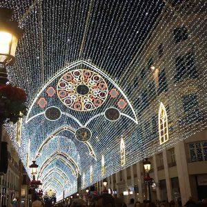 Luces Navideñas en Málaga
